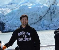 Aaron at Frontage Glacier, AK